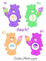 Ice Cream Care Bear Adopts by CaptainMockingjay