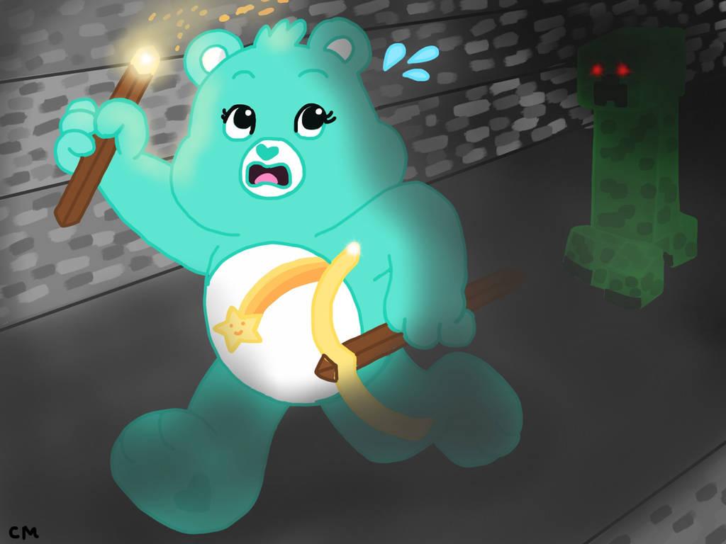 Wish Bear Plays Minecraft! by CaptainMockingjay
