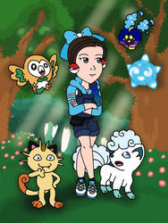 Myself as a Pokemon Collector by CaptainMockingjay