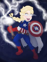 Captain Elsa Is Worthy! by CaptainElsa