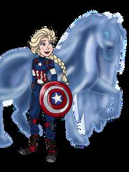 Captain Elsa and Nokk by CaptainElsa