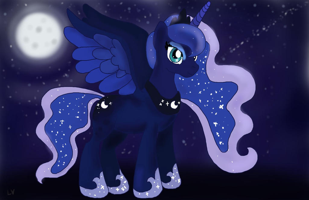 Princess Luna in Moonlight