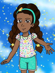 Sophie's Rainbow Star Outfit