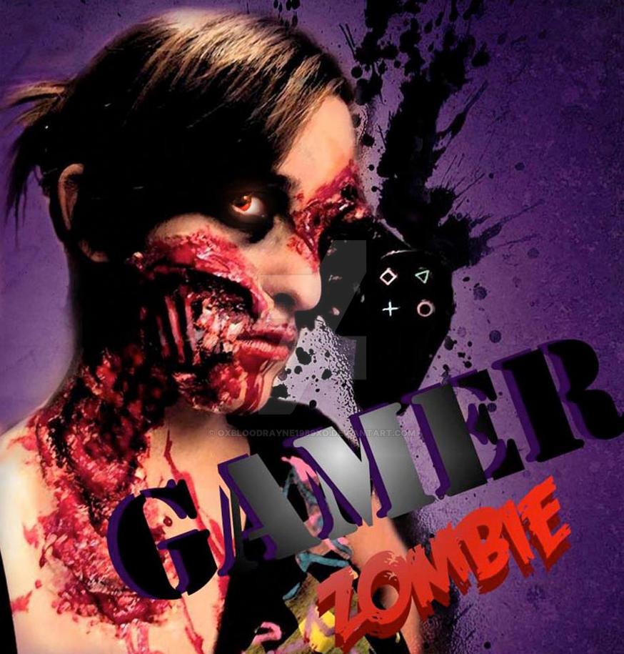 Zombie Gamer By Oxbloodrayne1989xo On Deviantart
