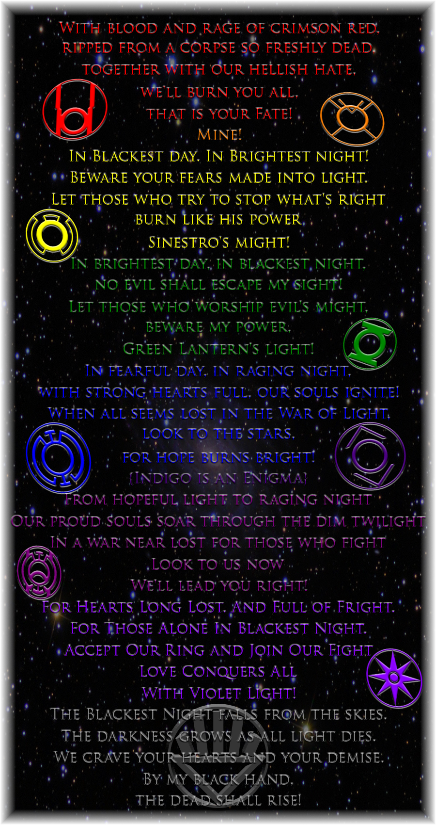 The Lantern Oaths by