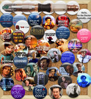 Doctor Who Flairboard by GublerFanGirl