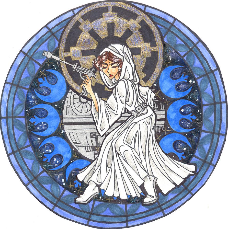 Princess Platform - Leia Organa by ServantofSHEVAL