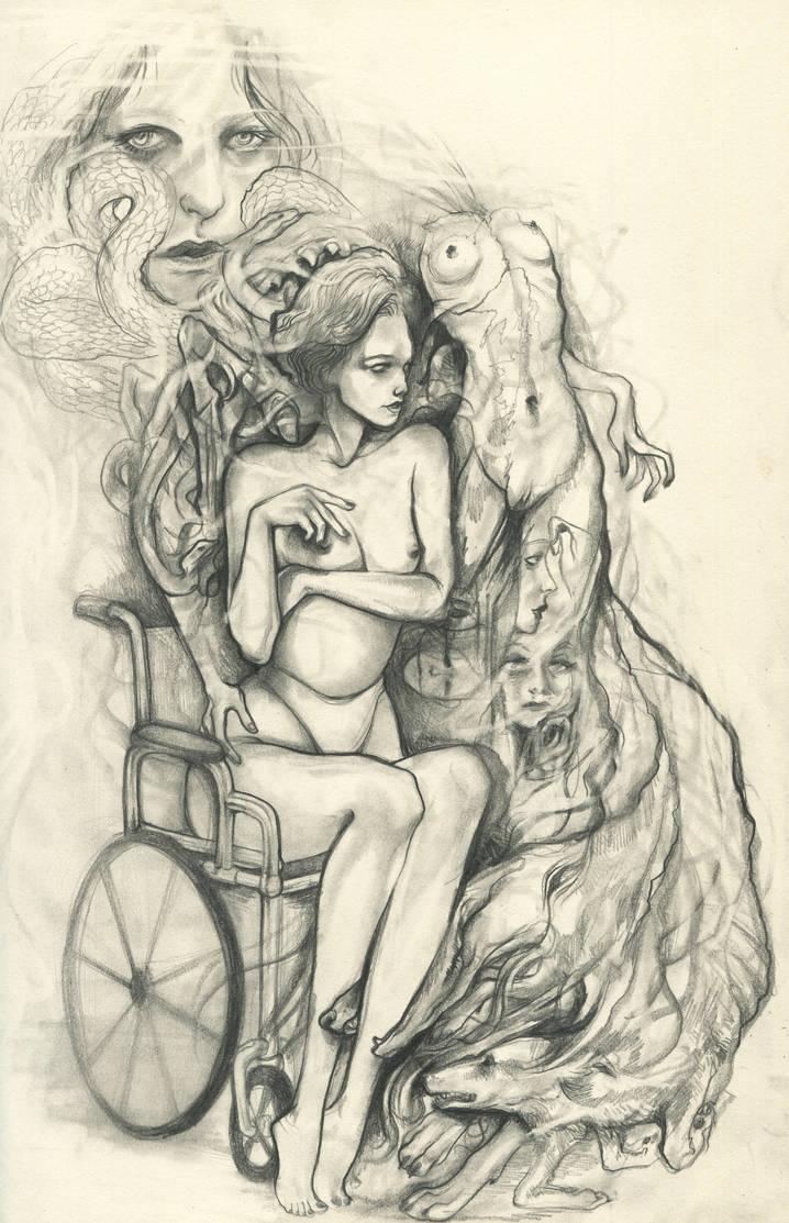 Spiritual Cramp by CeliaAcelia