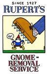 Rupert's Gnome-Removal Service