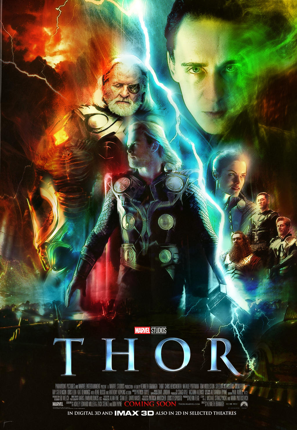Thor 2011 Movie Poster By Viceroyphoenix On Deviantart