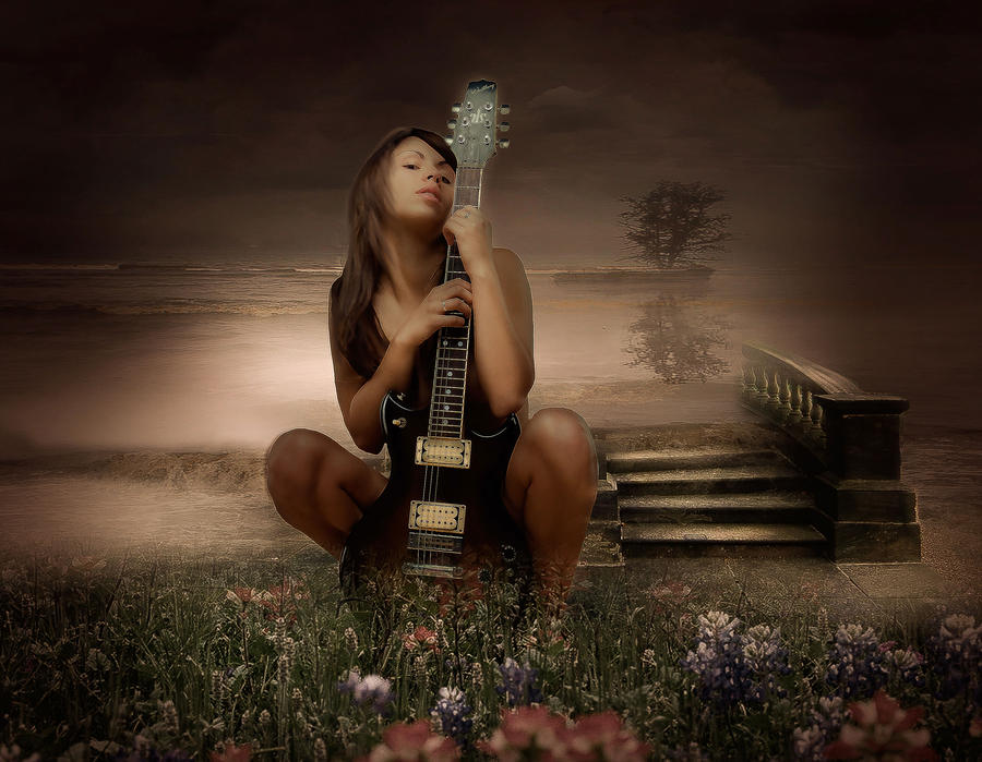 My guitar does not play for you by DeniseWorisch
