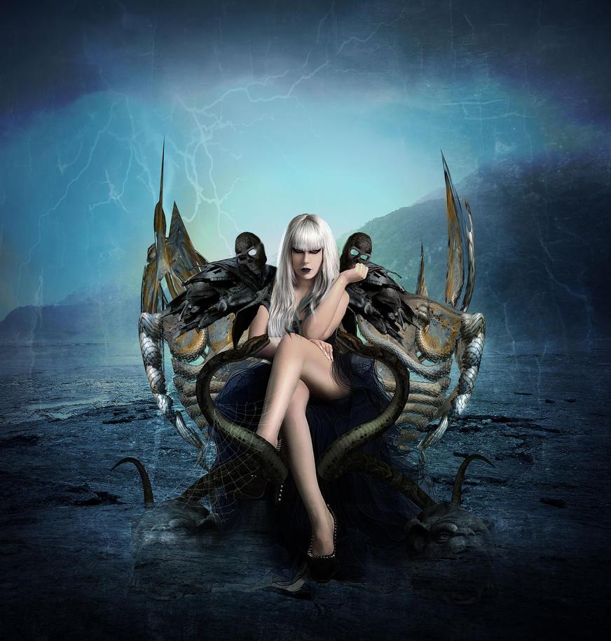 Queen of -darkness by DeniseWorisch