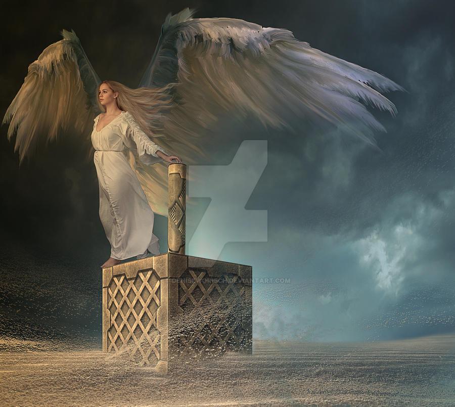 Iansa goddess of storms by DeniseWorisch