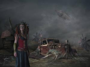 Steam Scene by DeniseWorisch