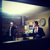 PAYDAY: The Heist Chains and Dallas by Jesterprops