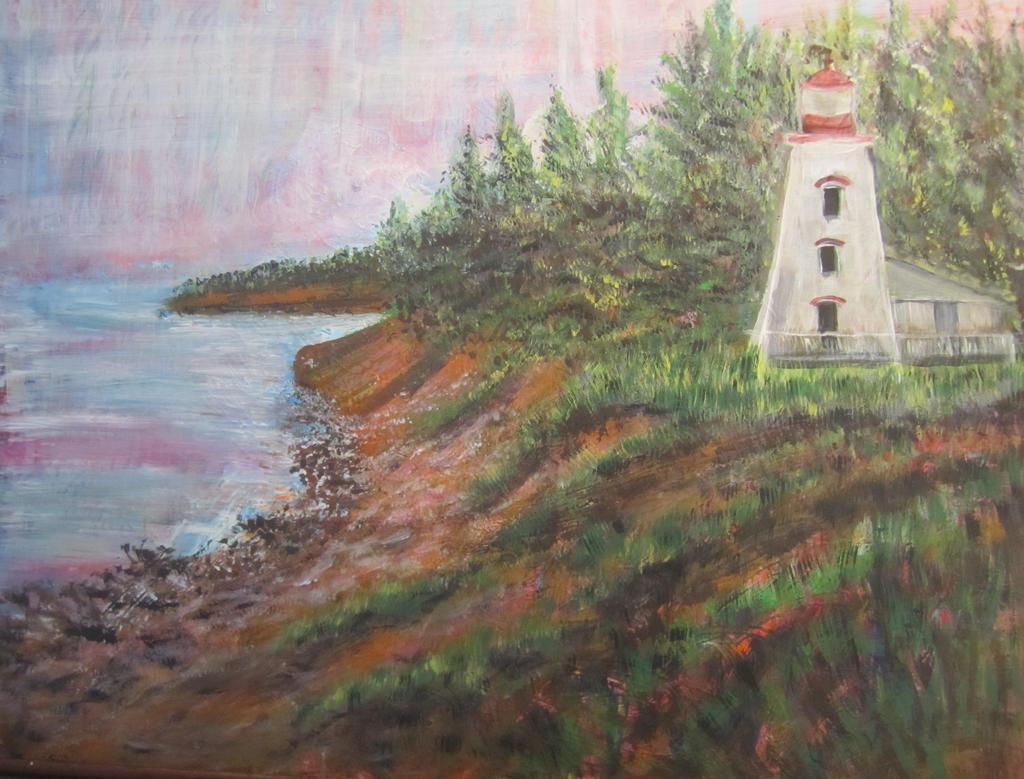 Cape Bear Lighthouse by PEISeaChange