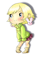 Blond Chibi by coloradogirl86