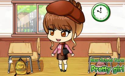 Free Request Techuns10 Chibi school gir