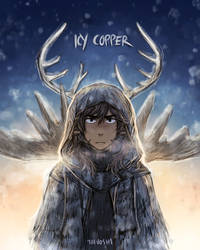 Icy Copper (alt cover) by Toivoshi