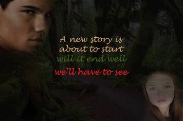 Jacob and Renesmee by Minawara