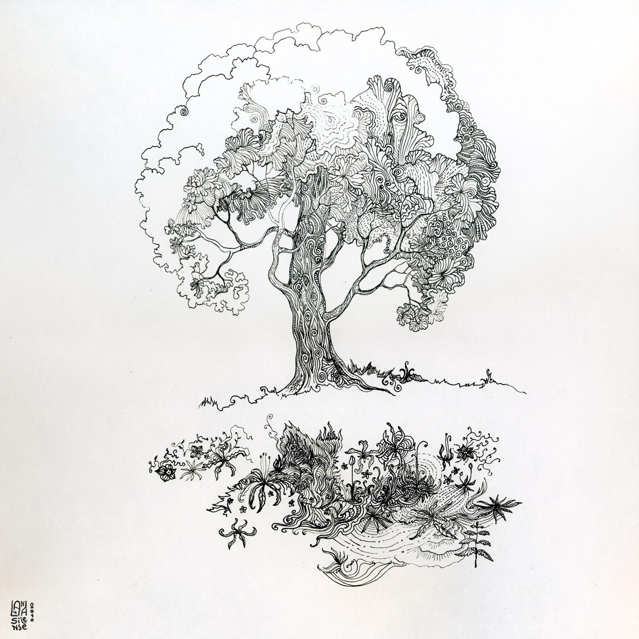 Tree of Life - unfinished by itokashi
