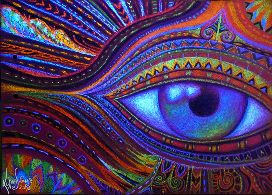 Cosmic Eye final by itokashi on DeviantArt