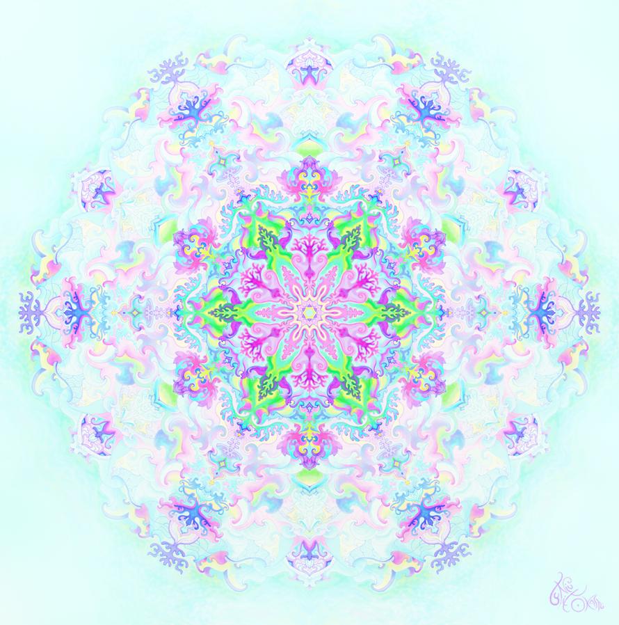 Subtle Mandala by itokashi