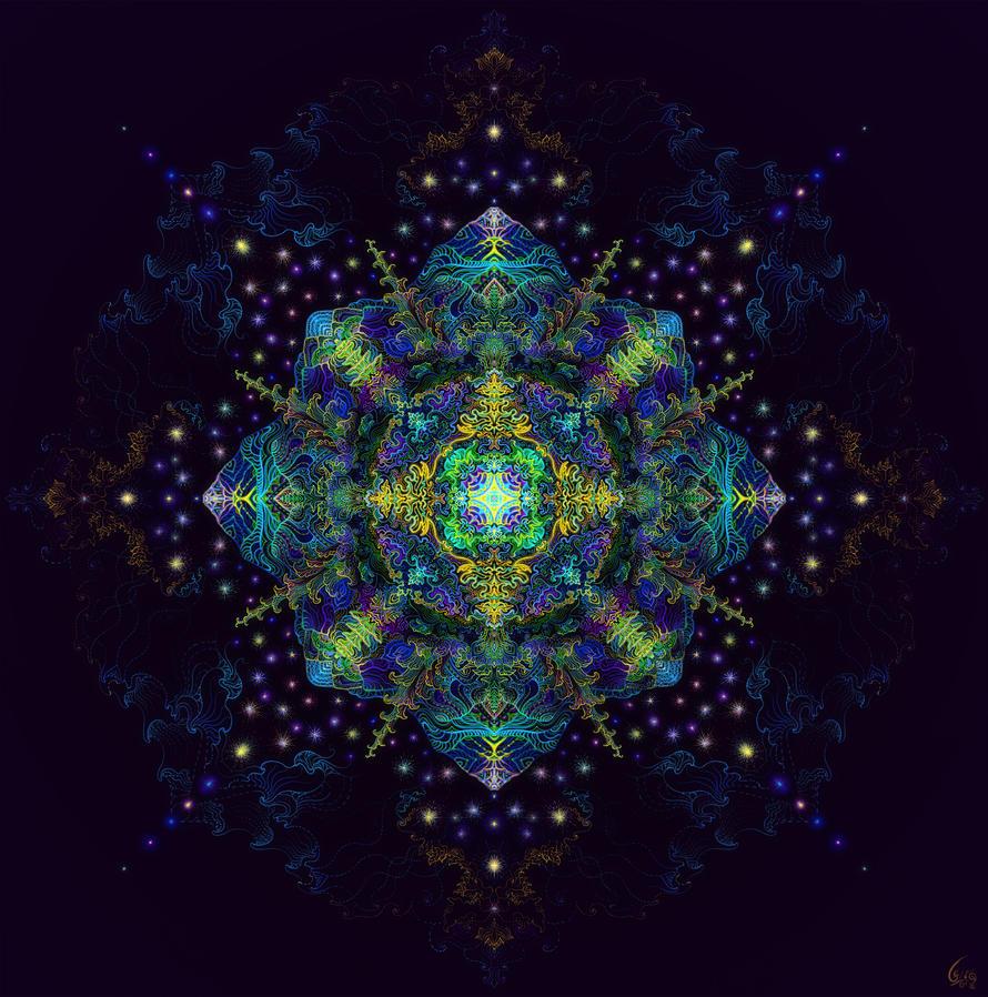 MicroCosmic Mandala by itokashi