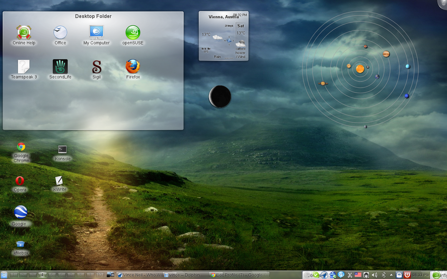 KDE - Workspace Improves User Experience