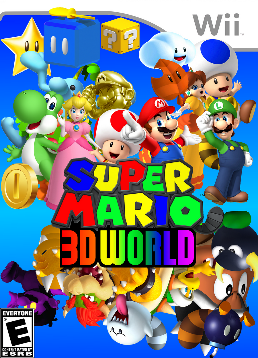 Super Mario 3D World Final Boxart by YoshiGo99 on DeviantArt