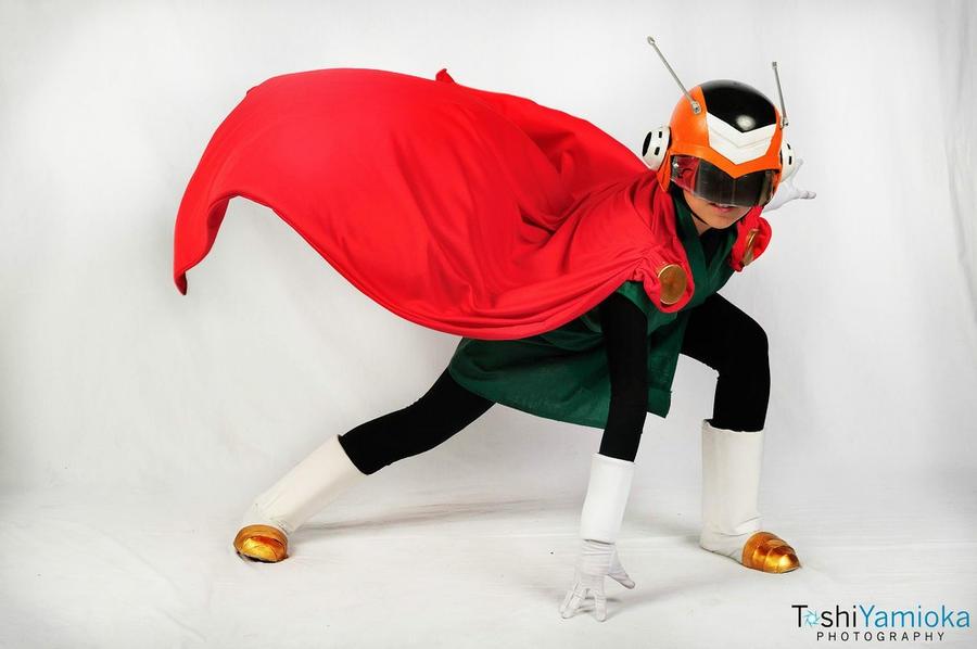 Great Saiyaman Cosplay by Oniakako