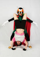 Great Saiyaman and Videl Cosplay