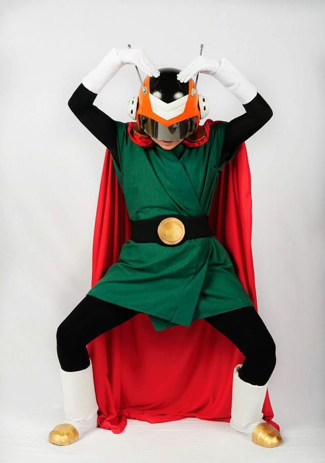 Great Saiyaman - Justice Pose by Oniakako