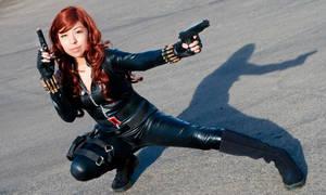 Black Widow Cosplay from Iron Man 2
