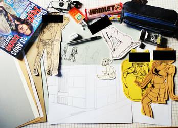 Un Making of (viejito) by Marianoilustrado