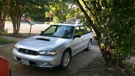 1998 Subaru Legacy GT by VinylScratchDJ