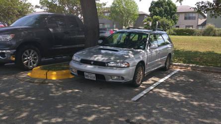 1998 Subaru Legacy GT wagon by VinylScratchDJ