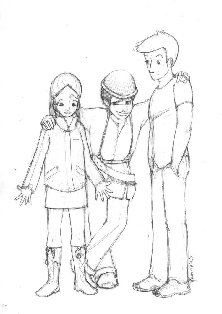 lost heroes coloring pages - photo#3