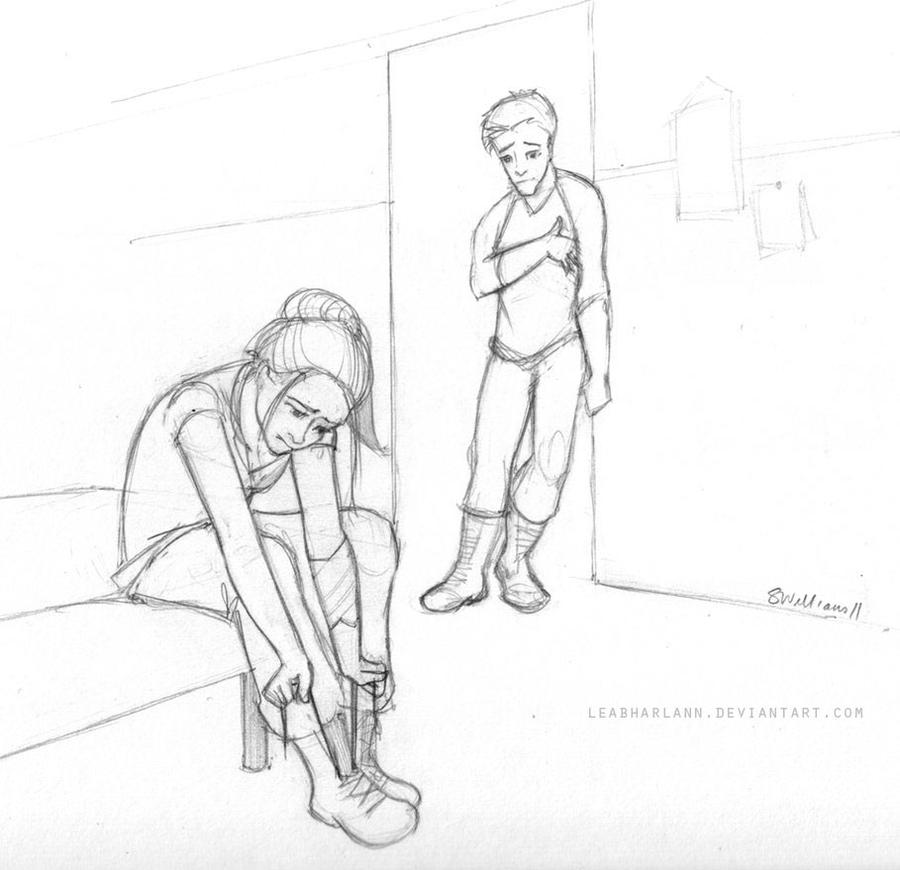 Divergent - Tris and Four by leabharlann on DeviantArt