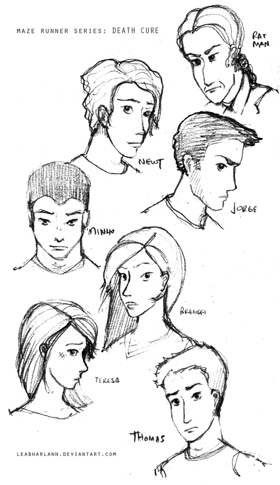 Death Cure - Characters by leabharlann