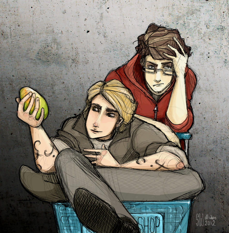 TMI, CoFA - Simon, Jace, Mango (version 2) by leabharlann