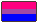 bisexual flag emoticon by pixelpeaches