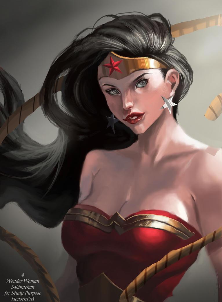 Wonder Woman - Sakimi by HensenFM