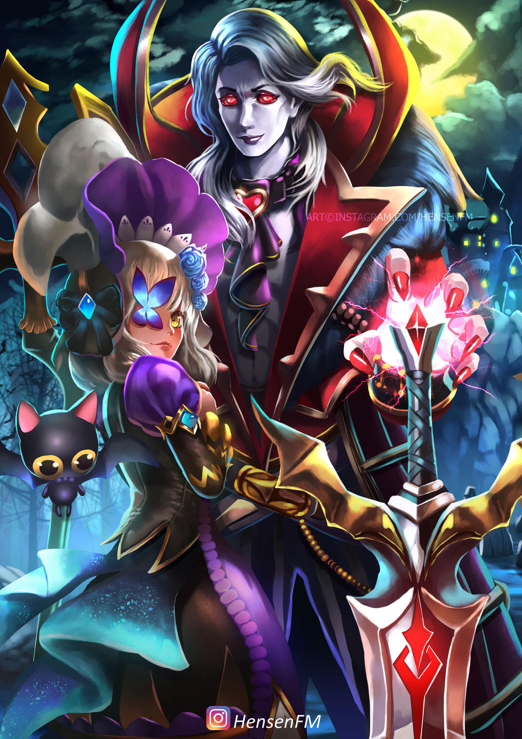 Wallpaper Mobile Legends Alucard Kolek Gambar