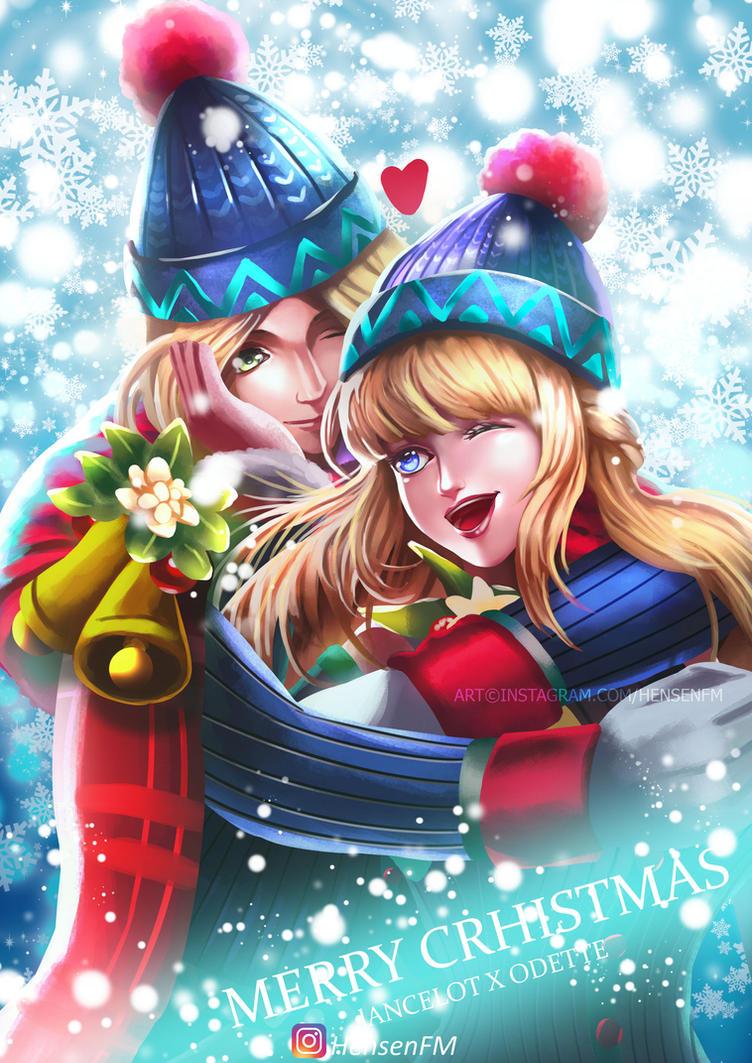 Lancelot Odette Christmas Mobile Legends HensenFM By