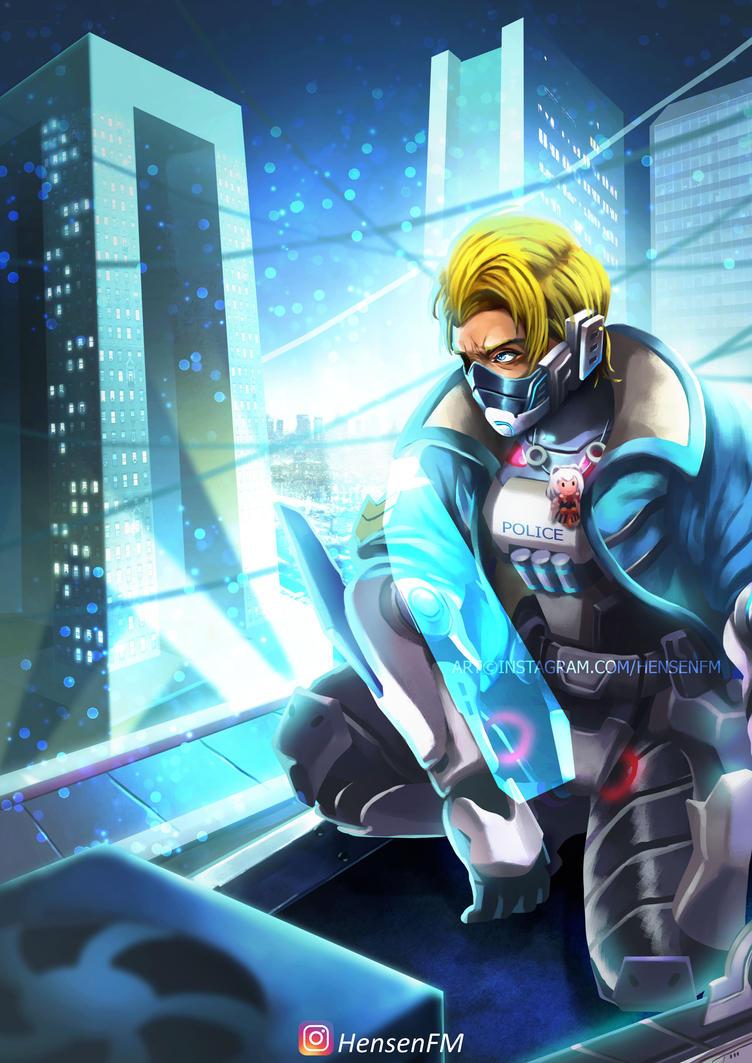 Hayabusa Future Enforcer Mobile Legends By HensenFM On