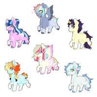 Set Price Baby Pony Adopts ( OPEN 1/6 )