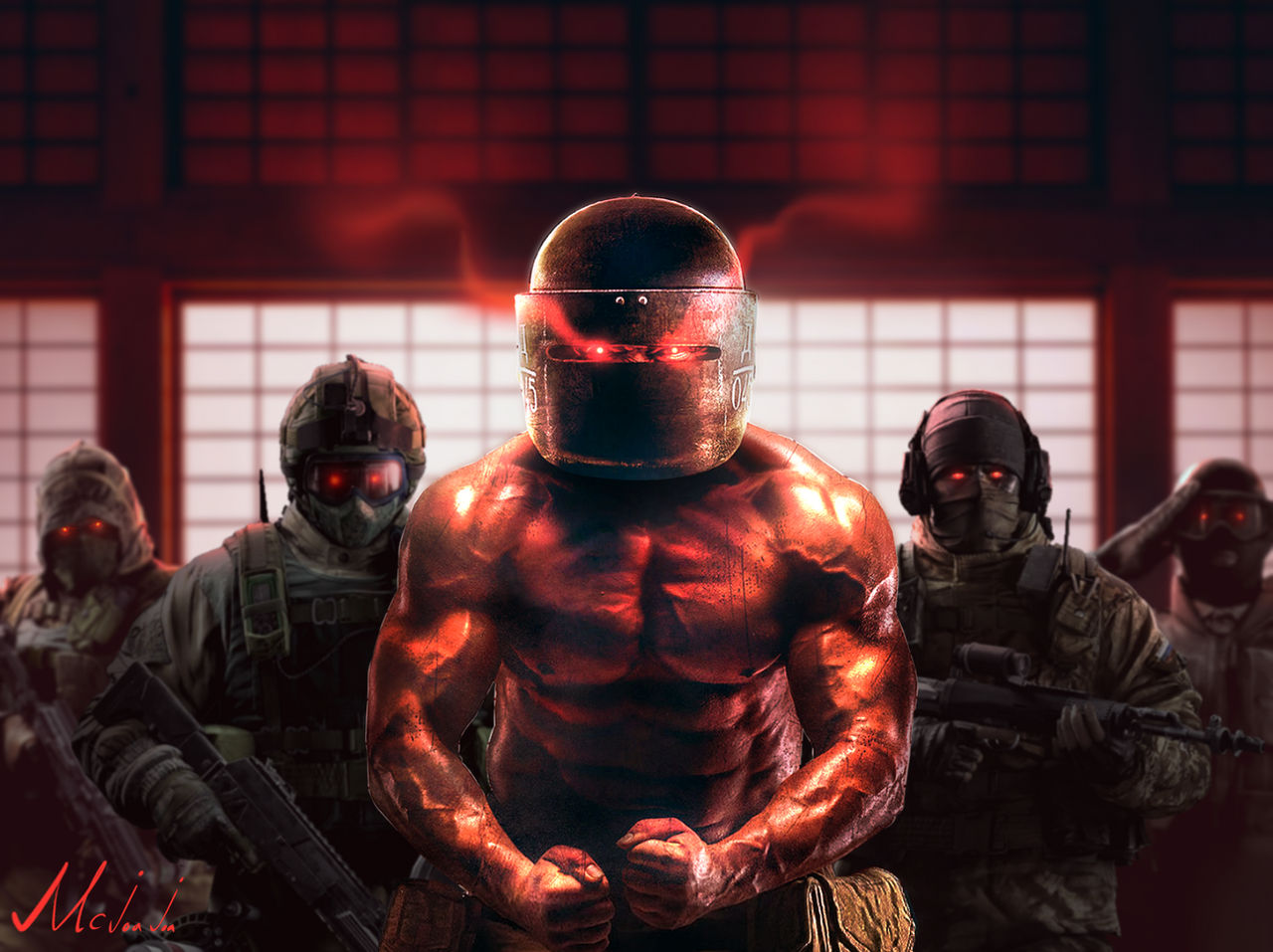 Most Strongest R6s Russian Tachanka Wallpaper By Mcjoajoa On