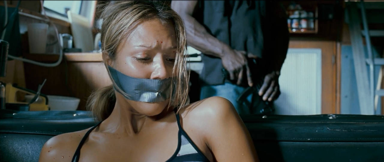 jessica alba-Into The Blue gagged by mileshendon