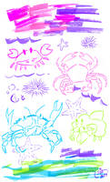 Page of Crabs